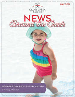 Cross Creek Ranch Newsletter May 2019