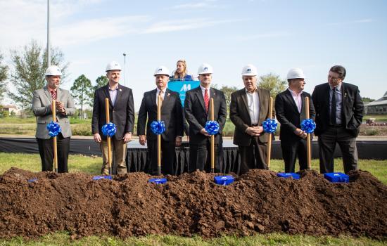Cross Creek Town Center Breaks Ground
