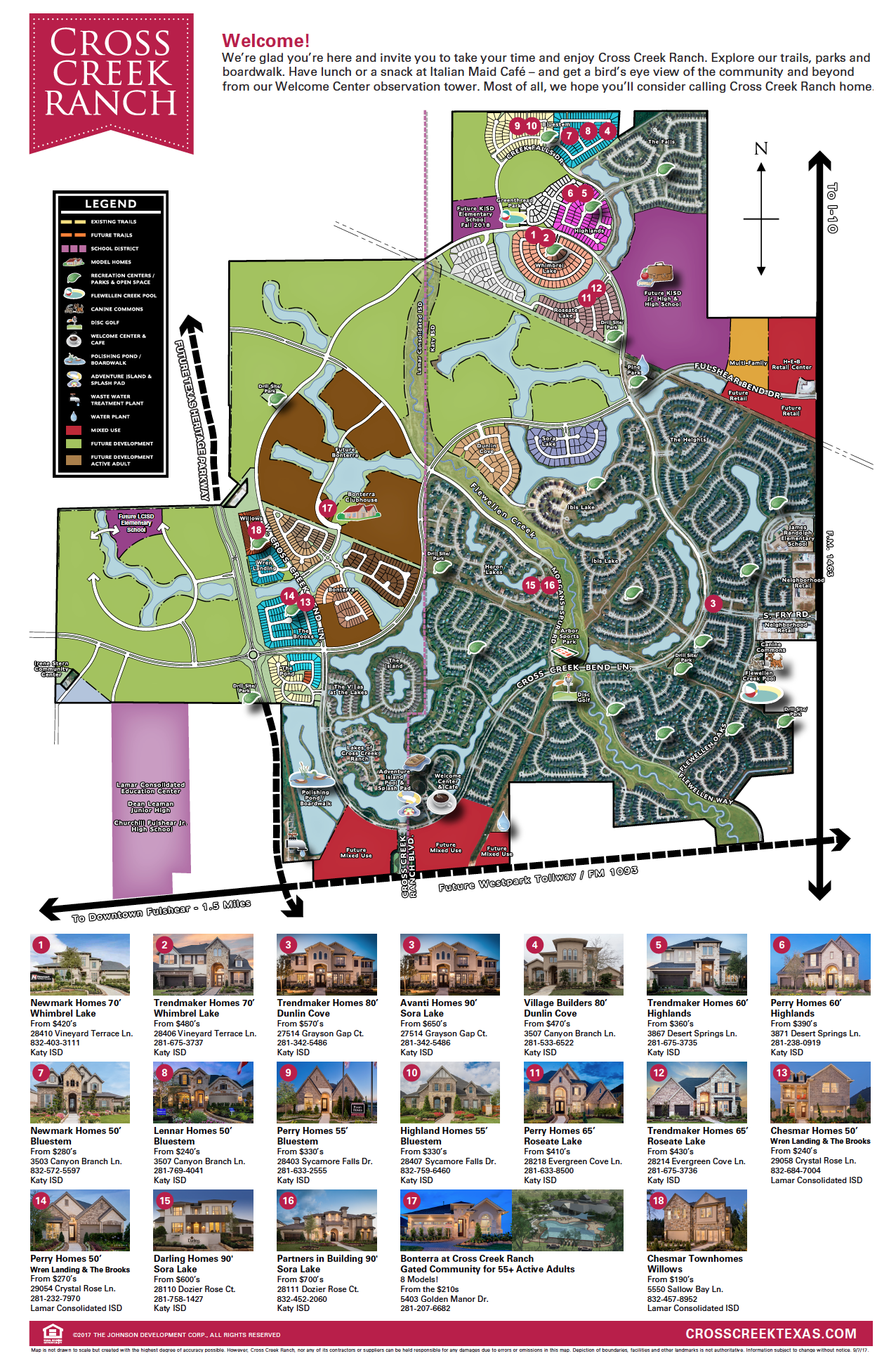 Newmark Homes Floor Plans Cross Creek Ranch New Homes In Houston New Homes In