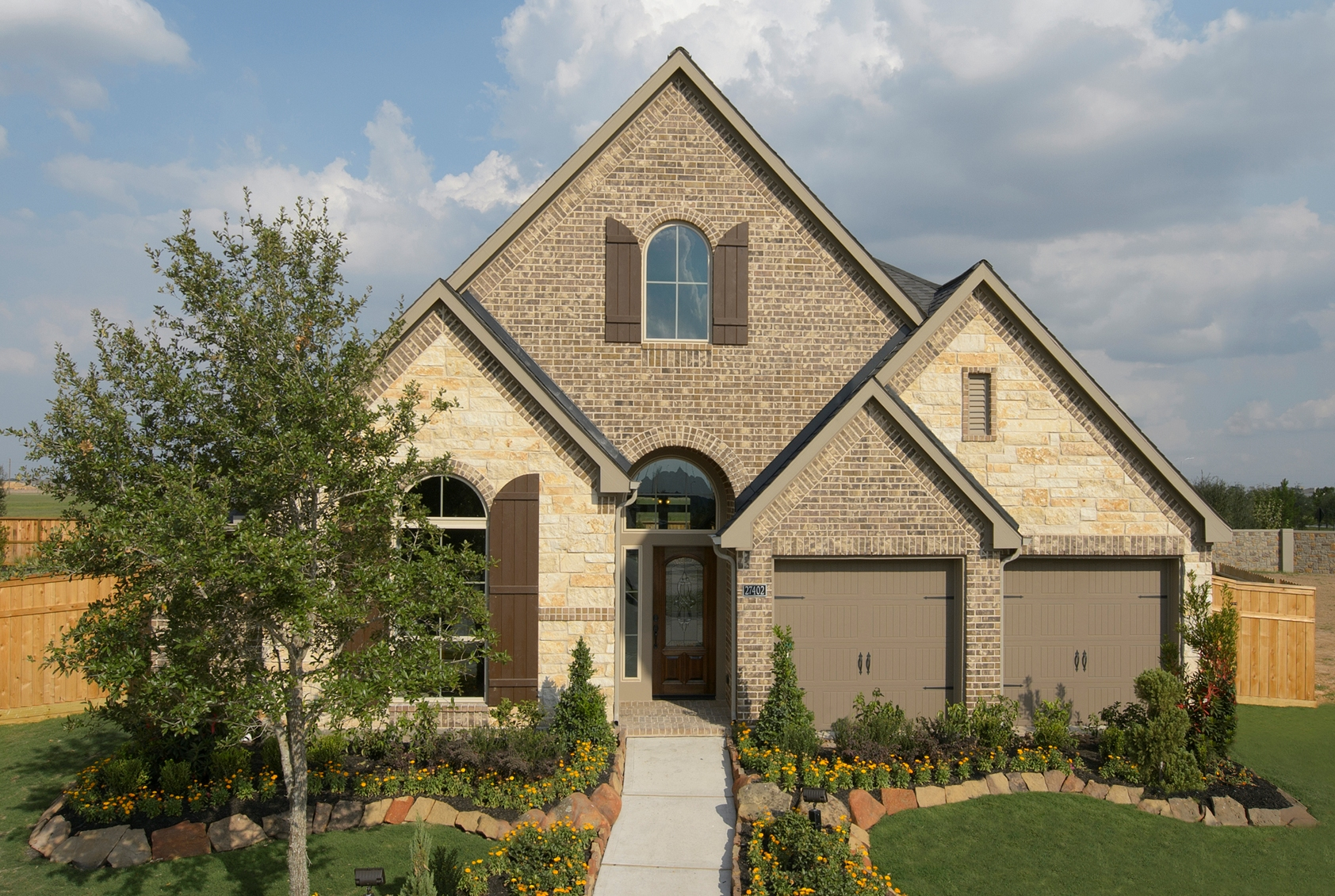 Awesome houston model homes pictures kelsey bass ranch for Ranch model homes