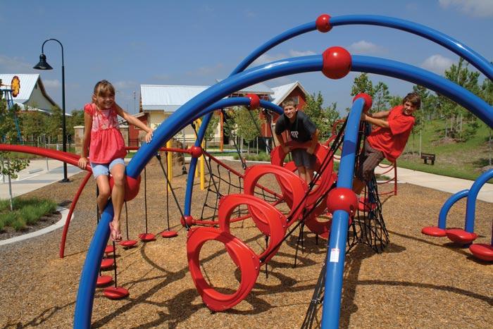 Houston Master Planned Community Playground